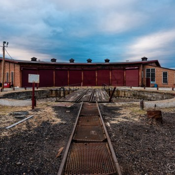 Rockhill Roundhouse and Turntable
