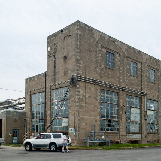 A view of Power Plant Building 6017 in 2007.