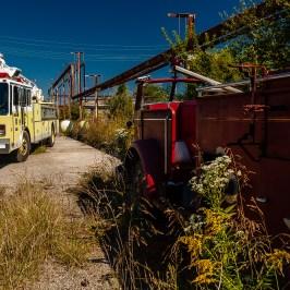 Abandoned Charlestown Firetrucks
