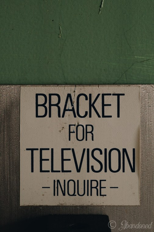 Hayswood Hospital Bracket for Television Inquiry Sign