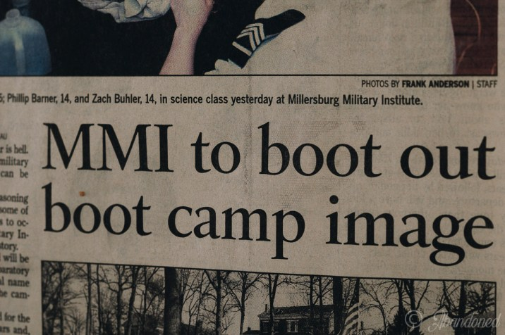 Millersburg Military Institute Gamble Hall