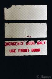 Russell YMCA Emergency Exit Door