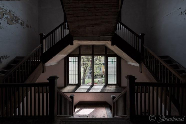 United Brethren Christ Church Staircase