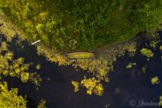 Lake and Canoes