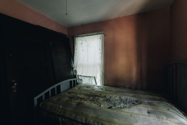 Abandoned Hamilton Cottages Guest Room