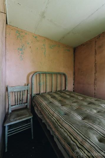 Abandoned Hamilton Cottages Guest Room
