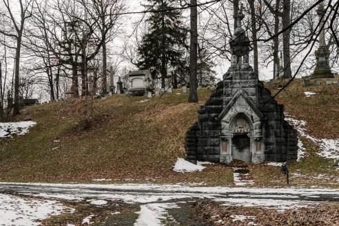 Oakwood Cemetery John Sabey Jr. Mausoleum