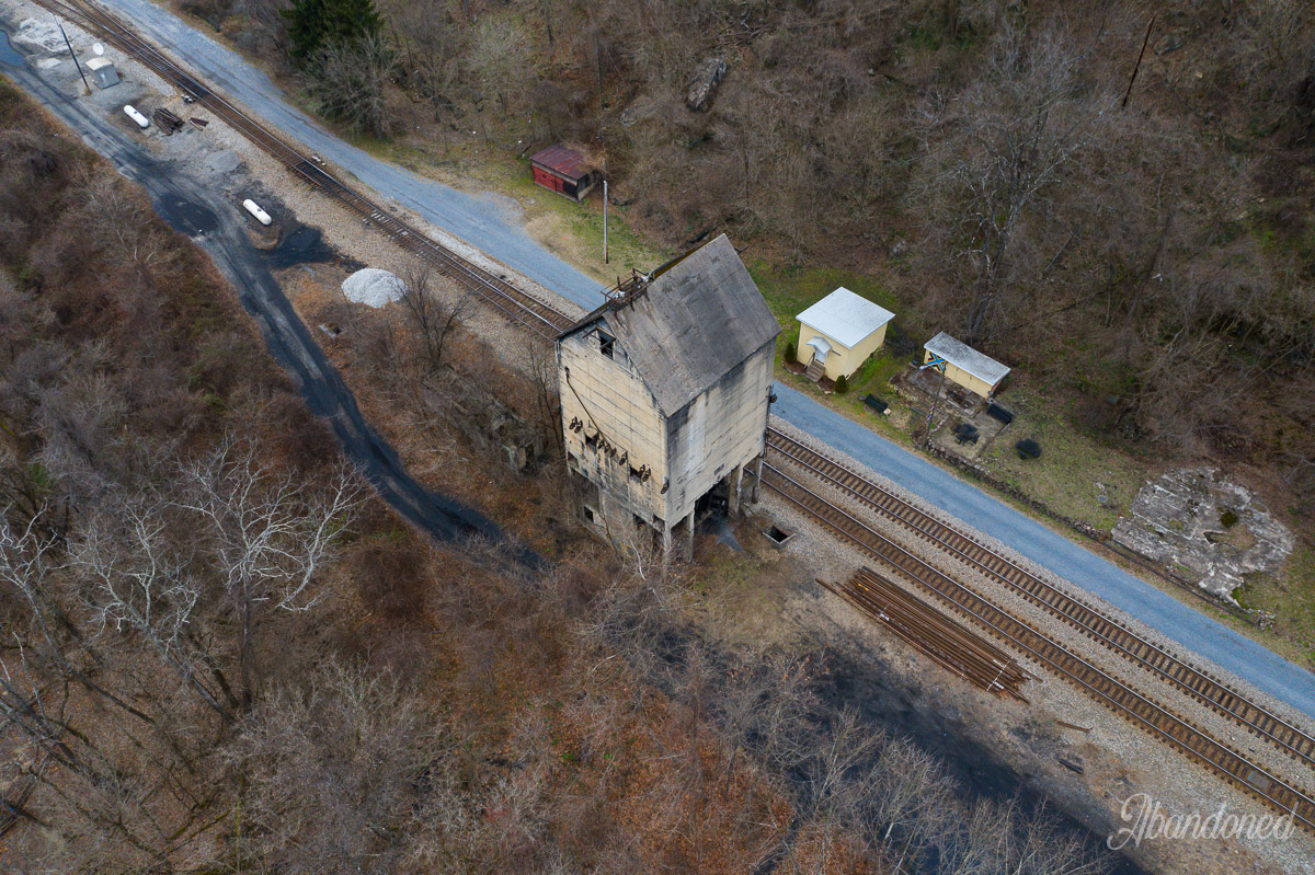 C&O Coaling Tower and Sand House