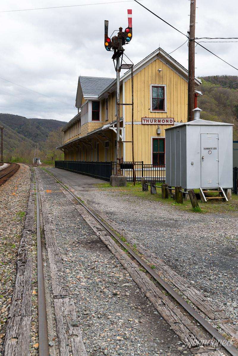 Thurmond Train Depot