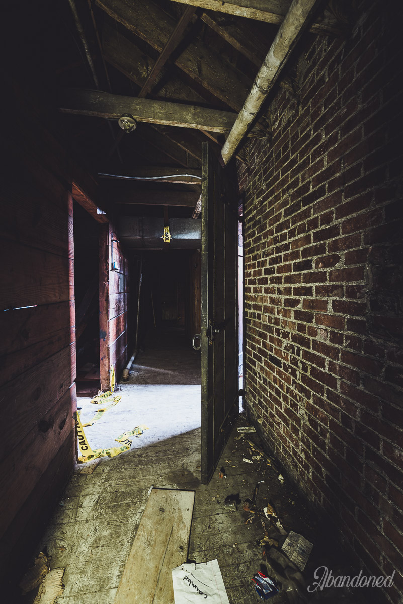 Williamson Memorial Hospital Attic