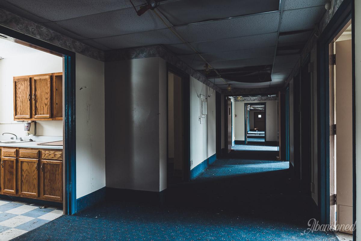 Williamson Memorial Hospital Typical Interior - Hallway