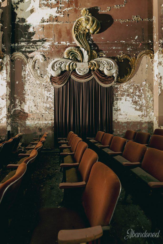 Columbia Theatre Auditorium Detail