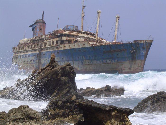 American Star Barco Lugares Abandonados Fuerteventura Canarias Abandoned Spain España Urbex