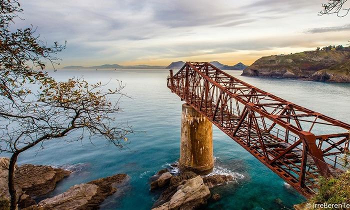 Cargadero Mineral Mioño Lugares Abandonados Cantabria Abandoned Spain España Urbex