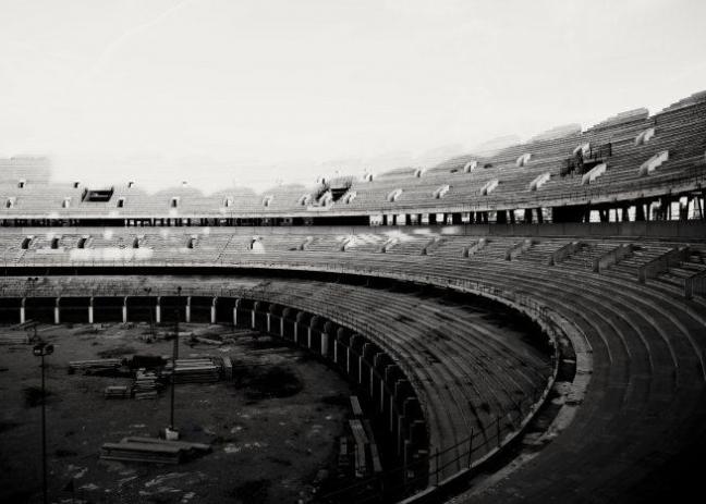 Estadio Futbol Nuevo Mestalla Lugares Abandonados Valencia Abandoned Spain España Urbex