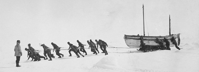Shackleton Liderazgo Optimismo Resiliencia