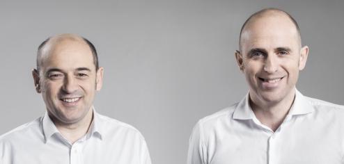 abantian, equipos y negocios que avanzan. Javier Martín y Ion Uzkudun