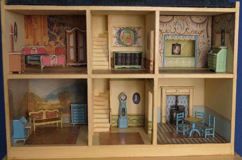 Pretend Play Odoria 1:12 Miniature Theard Spools Box Vintage Sewing Room Essentials Dollhouse Furniture Accessories Livingroom Bedroom Wide Varieties