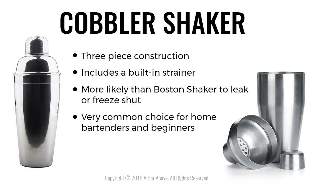 3 Piece Cheater Tin Boston BAR COCKTAIL SHAKER Stainless Steel Mini Mixing Set