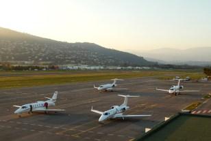 Sea Sunet & Jets ...