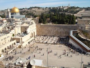 Author: Golasso, Wikipedia Commons The Western Wall in Jerusalem