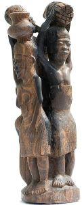 Author: MatthiasKabel, Wikipedia Commons Makonde carving c. 1967