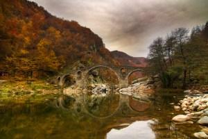 Author: Evgeni Dinev via Wikipedia Commons Dyavolski bridge in Bulgaria, Дяволският мост