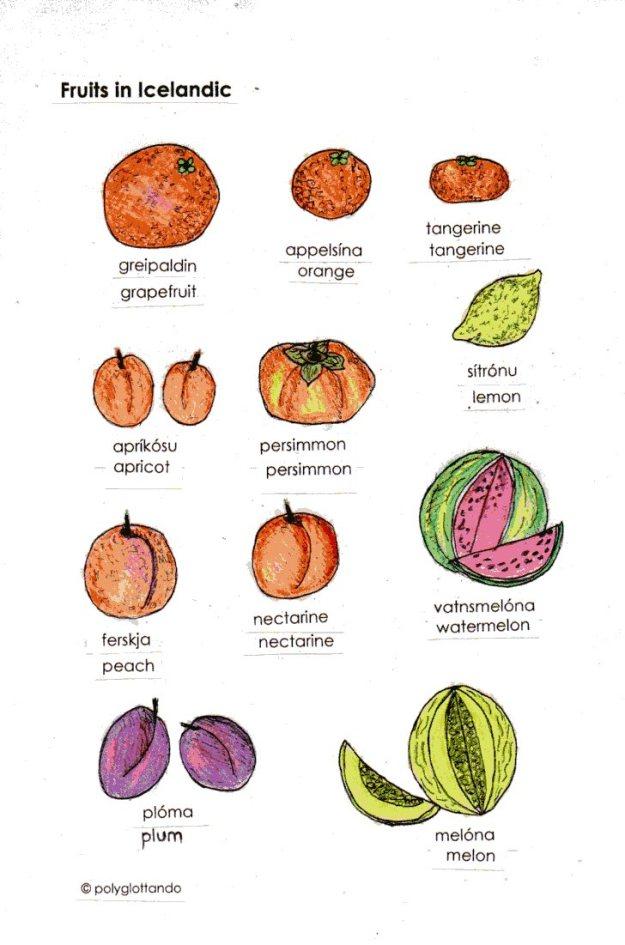 icelandic fruits