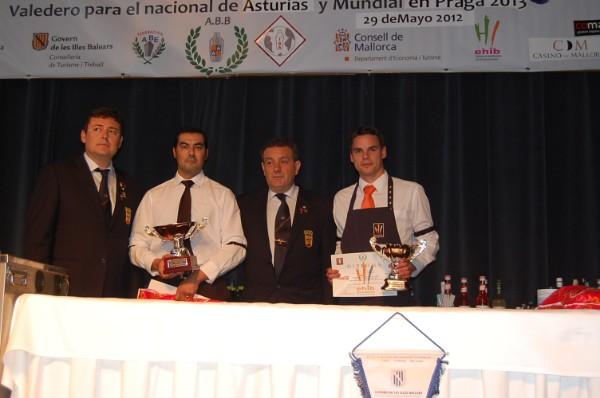 Felipe Daviu y Janko Marín campeones en el LIX Campeonato Balear de coctelería