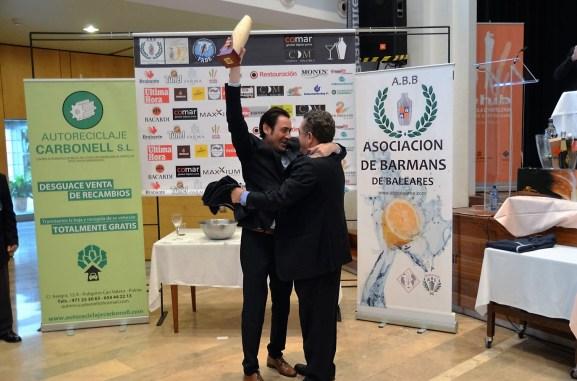 Campeon Barman Andreu Jenestar