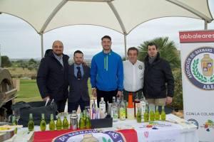Degustación en el Trofeo Swing de la Radio 2018