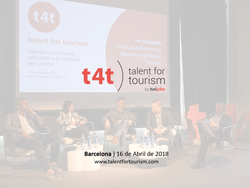 Congreso talent for tourism