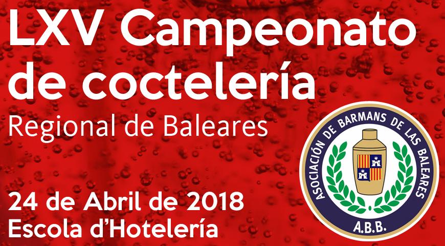 La ABB convoca el LXV Campeonato Regional de Coctelería