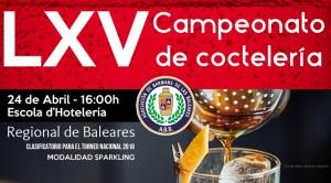 LXV Campeonato Regional de Coctelería de Baleares