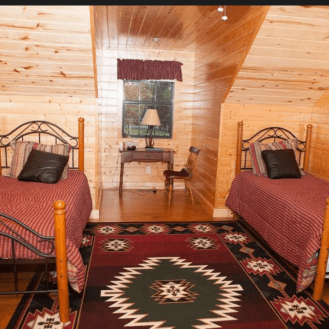 Twin bed accommodations