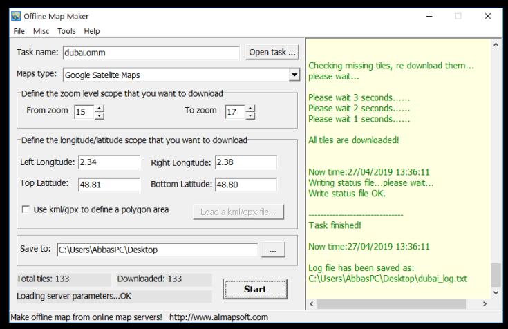 Offline Map Maker Serial Number