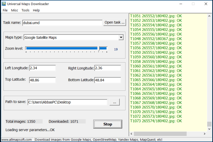 Universal Maps Downloader Serial Number