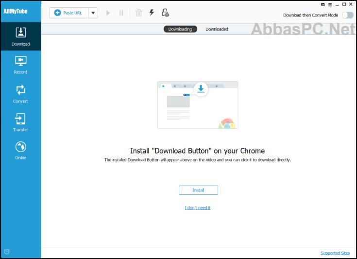 Wondershare AllMyTube Licensed Email and Registration Code