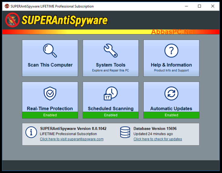 SUPERAntiSpyware Lifetime Professional License Key