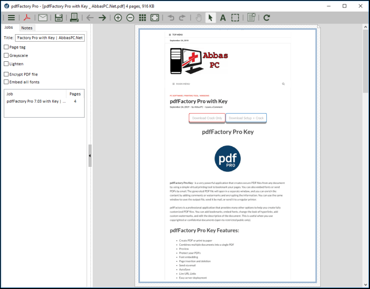 pdfFactory Pro License Code