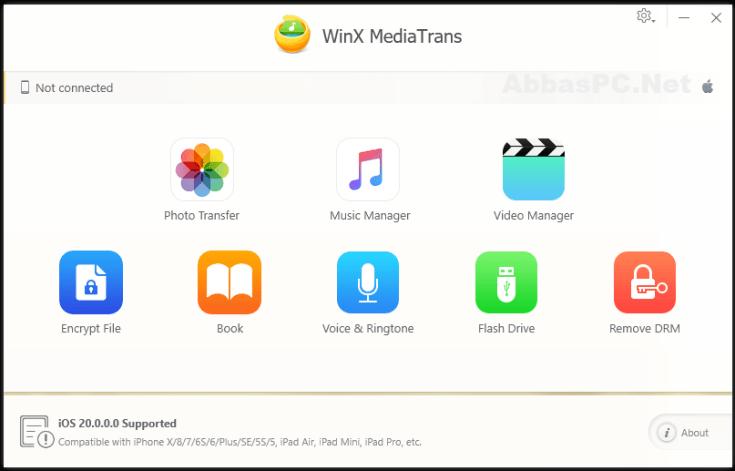 WinX MediaTrans Registration Code Free Download