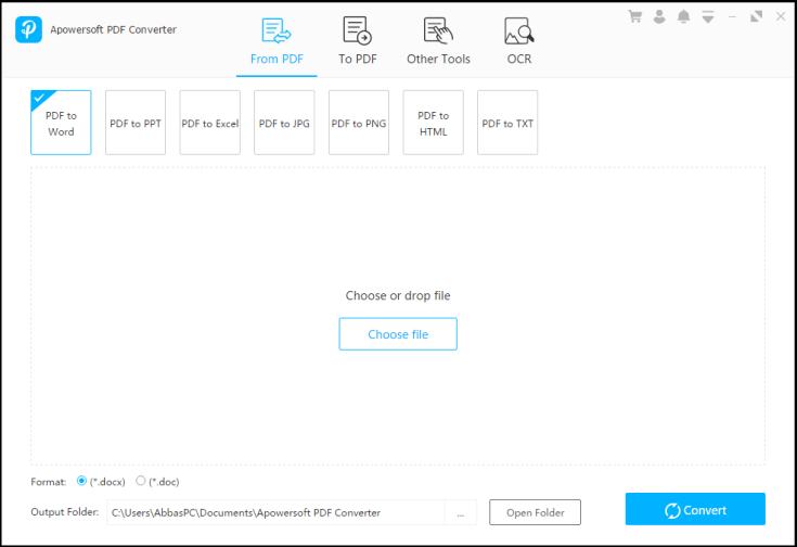 Apowersoft PDF Converter Serial Key Free Download