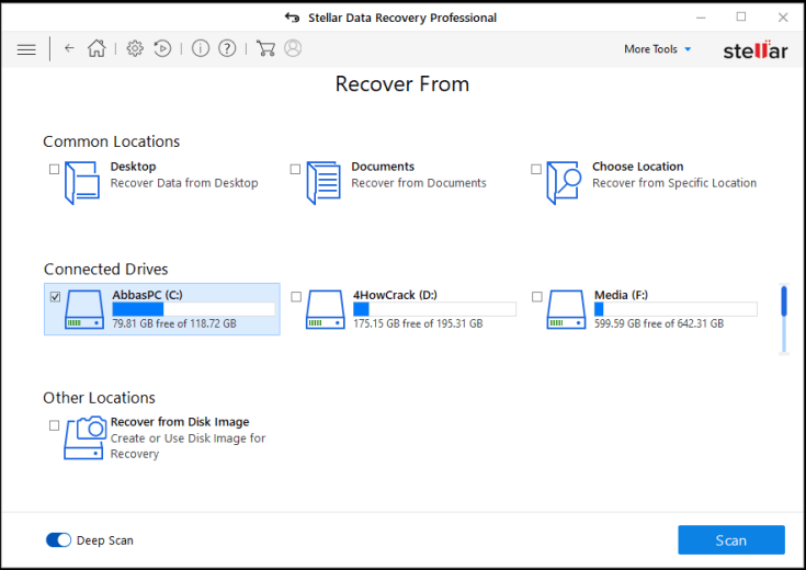 Stellar Data Recovery Professional Serial Key Download