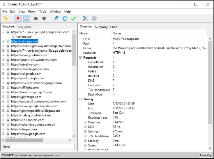 Charles Web Debugging Proxy License Key
