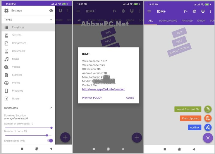 IDM+ APK MOD for Android