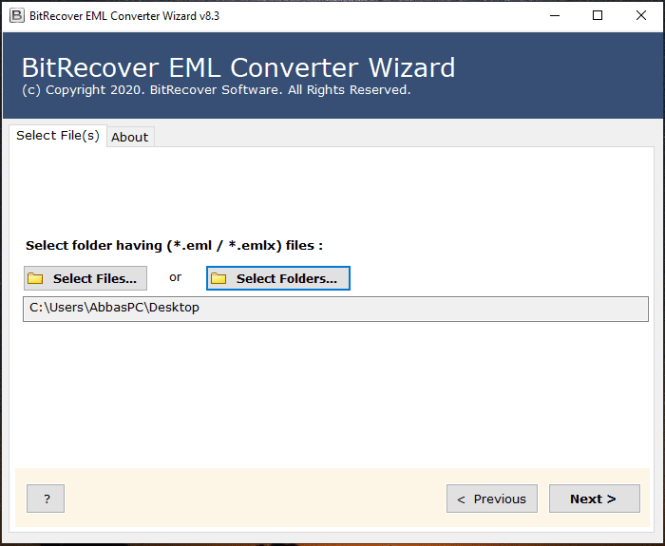 BitRecover EML Converter Wizard License Key