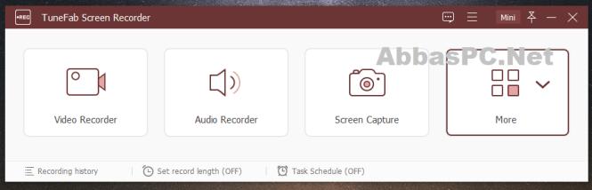 TuneFab Screen Recorder Registration Code