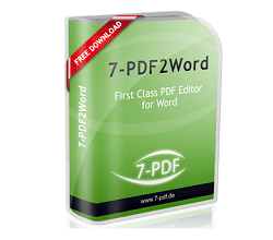 7-PDF PDF2Word Converter logo