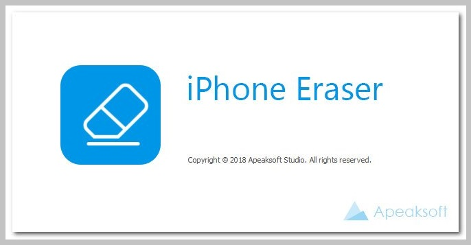Apeaksoft iPhone Eraser Registered for Windows