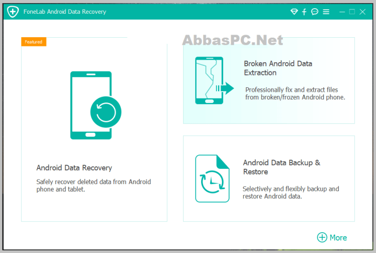 FoneLab Android Data Recovery Free Download for Windows